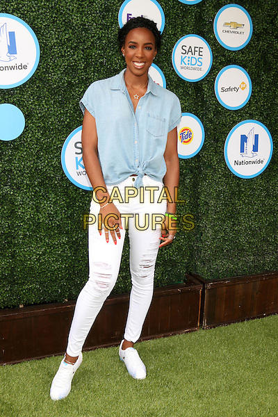 Kelly Rowland at Safe Kids Day at Smashbox Studios on April 24, 2016 in Culver City, California. <br /> CAP/MPI/DE<br /> &copy;DE/MPI/Capital Pictures