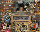 MODERN, MODERNO, paintings+++++GST_Steampunked puzzle,USLGGST198,#N#, EVERYDAY ,collages,puzzle,puzzles ,photos ,Graffitees