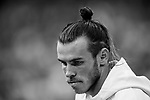 Gareth Bale of Real Madrid warms up prior to the La Liga 2017-18 match between Real Madrid and RC Deportivo La Coruna at Santiago Bernabeu Stadium on January 21 2018 in Madrid, Spain. Photo by Diego Gonzalez / Power Sport Images