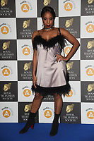 London Hughes<br /> arriving for the RTS Awards 2019 at the Grosvenor House Hotel, London<br /> <br /> ©Ash Knotek  D3489  19/03/2019
