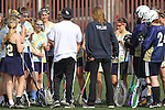 Santa Barbara, CA 02/18/12 - The UC Davis team huddles before their matchup against Florida at the 2012 Santa Barbara Shootout.