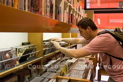 Genève, le 03.06.2009.Discothèque des minoteries..© Le Courrier / J.-P. Di Silvestro