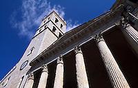 Italien, Umbrien, Minerva-Tempel in Assisi, heute eine Kirche