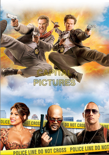 Will Ferrell, Mark Wahlberg, Eva Mendes, Samuel L. Jackson, Dwayne Johnson<br /> in The Other Guys (2010) <br /> *Filmstill - Editorial Use Only*<br /> CAP/NFS<br /> Image supplied by Capital Pictures