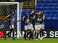 Reading's Nelson Oliveira celebrates scoring his side's first goal <br /> <br /> Photographer Andrew Kearns/CameraSport<br /> <br /> The EFL Sky Bet Championship - Bolton Wanderers v Reading - Tuesday 29th January 2019 - University of Bolton Stadium - Bolton<br /> <br /> World Copyright © 2019 CameraSport. All rights reserved. 43 Linden Ave. Countesthorpe. Leicester. England. LE8 5PG - Tel: +44 (0) 116 277 4147 - admin@camerasport.com - www.camerasport.com