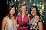 "From left: Kelly Garwood, Franny Jones and Angela Lee at the Houston Museum of Natural Science's ""Slither to the Sound: A Prehistoric Party"" Saturday March 02, 2013.(Dave Rossman/ For the Chronicle)"