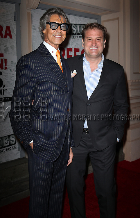 Tommy Tune & Jeff Calhoun.attending the Broadway Opening Night Performance of.'Newsies - The Musical' at the Nederlander Theatre in NewYork City on 3/29/2012 © Walter McBride / WM Photography