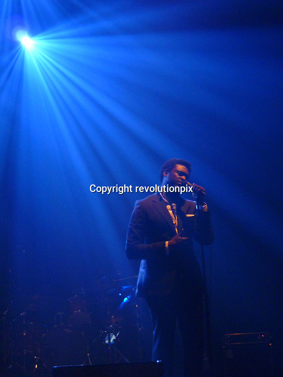 Corneille<br /> Paris<br /> January 13 2010<br /> Singer Corneille on stage at the Grand Rex in Paris<br /> ID revpix100113824