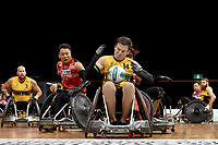 Andrew Edmondson (AUS) vs Japan<br /> Australian Wheelchair Rugby Team<br /> 2018 IWRF WheelChair Rugby <br /> World Championship / Day 4<br /> Sydney  NSW Australia<br /> Wednesday 8th August 2018<br /> &copy; Sport the library / Jeff Crow / APC