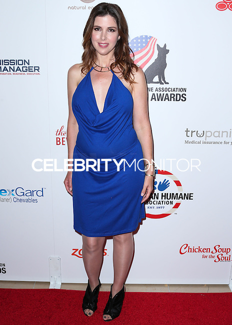 BEVERLY HILLS, CA, USA - SEPTEMBER 27: Wendy Wilson, Wilson Phillips arrives at the 4th Annual American Humane Association Hero Dog Awards held at the Beverly Hilton Hotel on September 27, 2014 in Beverly Hills, California, United States. (Photo by Xavier Collin/Celebrity Monitor)