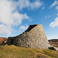 Dun Carloway Broch, Carloway, Isle of Lewis, Outer Hebrides, Scotland