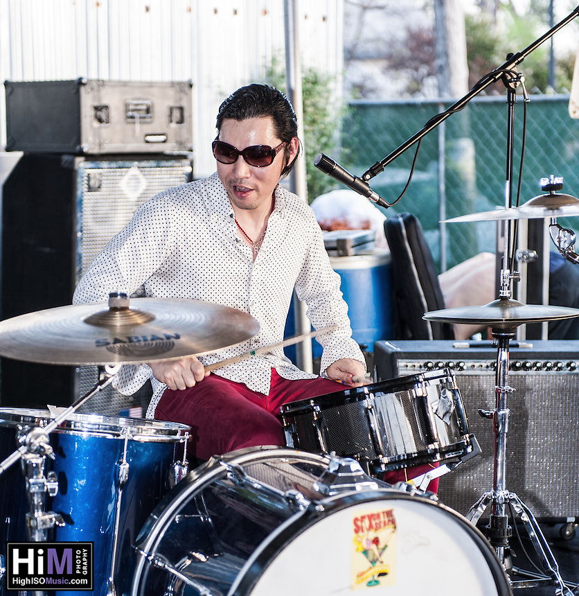 The Rubies performing at SXSW 2012 in Austin, TX.