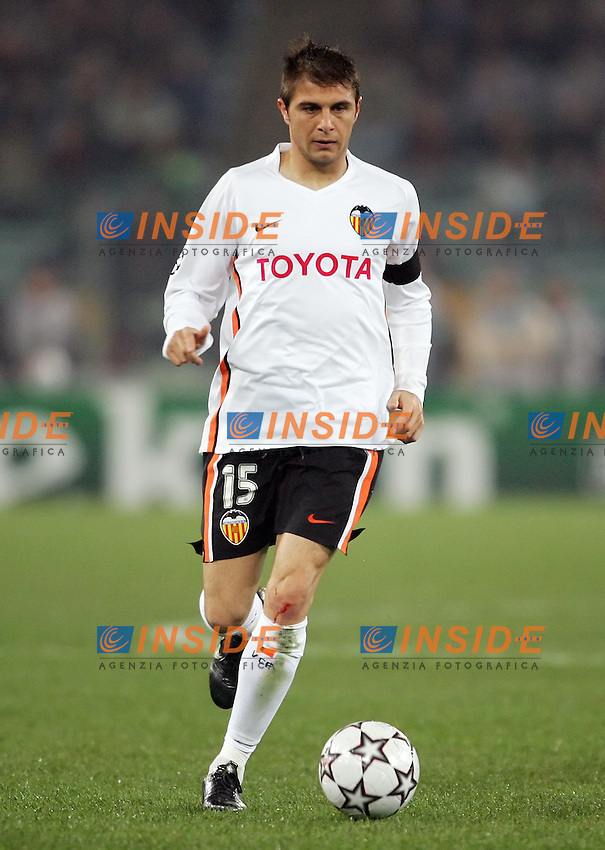 Joaquin Sanchez (Valencia)<br /> Champions League 2006-2007<br /> 5 Dec 2006 (Group Stage, group D, Match Day 6)<br /> Roma - Valencia (1-0)<br /> &quot;Olimpico&quot; Stadium - Roma - Italy<br /> Photographer: Andrea Staccioli Inside