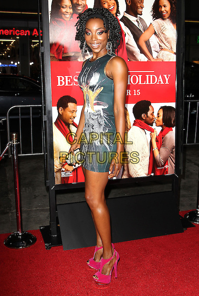 05 November 2013 - Hollywood, California - Erica Ash at &quot;The Best Man Holiday&quot; Los Angeles Premiere held at TCL Chinese Theatre on November 5th, 2013<br /> CAP/ADM/KB<br /> &copy;Kevan Brooks/AdMedia/Capital Pictures