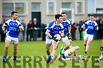 KOR's Cian Sayers in Action at the Garvey SuperValu Senior County Football Championship Round 1 Kerins O'Rahillys V South Kerry at Strand Rd on Sunday