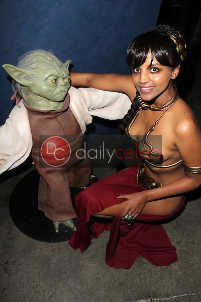 Melanie Wondiradi<br /> at the LeiasMetalBikini.com Celebration of the 30th Anniversary of &quot;Return Of The Jedi,&quot; Gentle Giant Studios, Burbank, CA 05-24-13<br /> David Edwards/DailyCeleb.Com 818-249-4998