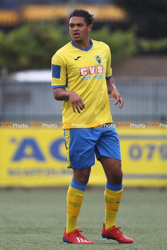 Coby Rowe of Haringey during Haringey Borough vs Corinthian Casuals, BetVictor League Premier Division Football at Coles Park Stadium on 10th August 2019