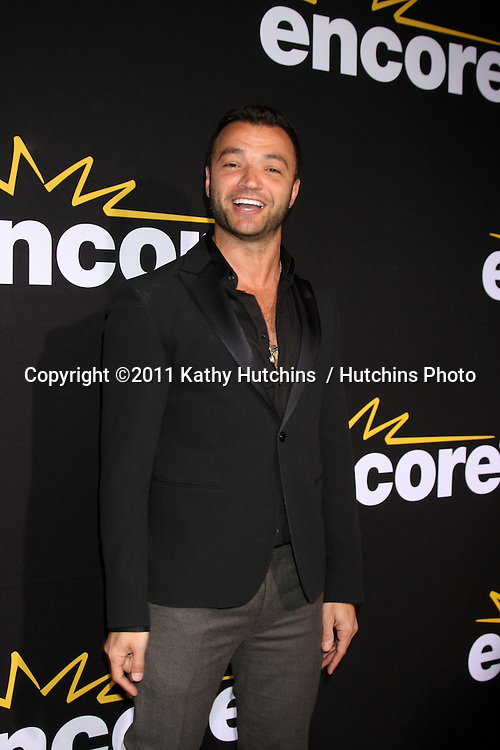 "LOS ANGELES - DEC 7:  Nick Tarabay arrives at the Premiere Of Encore's ""Method To The Madness Of Jerry Lewis"" at Paramount Studios Theater on December 7, 2011 in Los Angeles, CA"