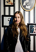 HAIM - lead guitarist and keyboardist Alana Haim - Portrait Photosession in Paris France - 02 Jun 2013.  Photo credit: Laurent Wallendorff/Dalle/IconicPix (UK ONLY)