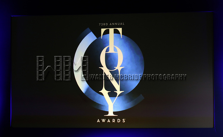 The 73rd Annual Tony Awards Nominations Announcement on April 30, 2019 in New York City.