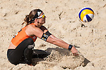 10.05.2015, Muenster, Schlossplatz<br /> smart beach tour, Supercup MŸnster / Muenster, Halbfinale<br /> <br /> Annahme Katrin Holtwick<br /> <br />   Foto &copy; nordphoto / Kurth