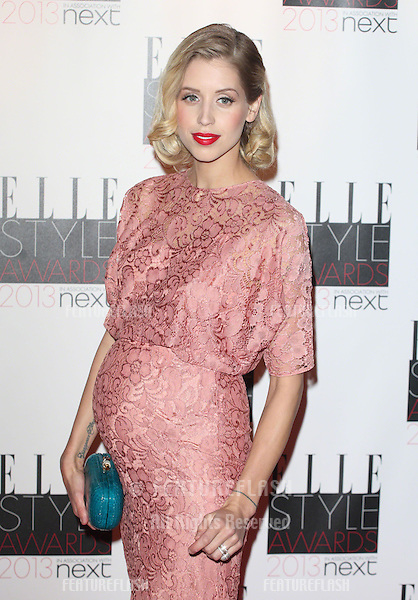 Peaches Geldof arriving at the 2013 Elle Style Awards, at The Savoy, London. 11/02/2013 Picture by: Alexandra Glen / Featureflash