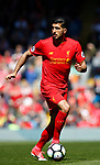 Emre Can of Liverpool during the English Premier League match at Anfield Stadium, Liverpool. Picture date: May 7th 2017. Pic credit should read: Simon Bellis/Sportimage