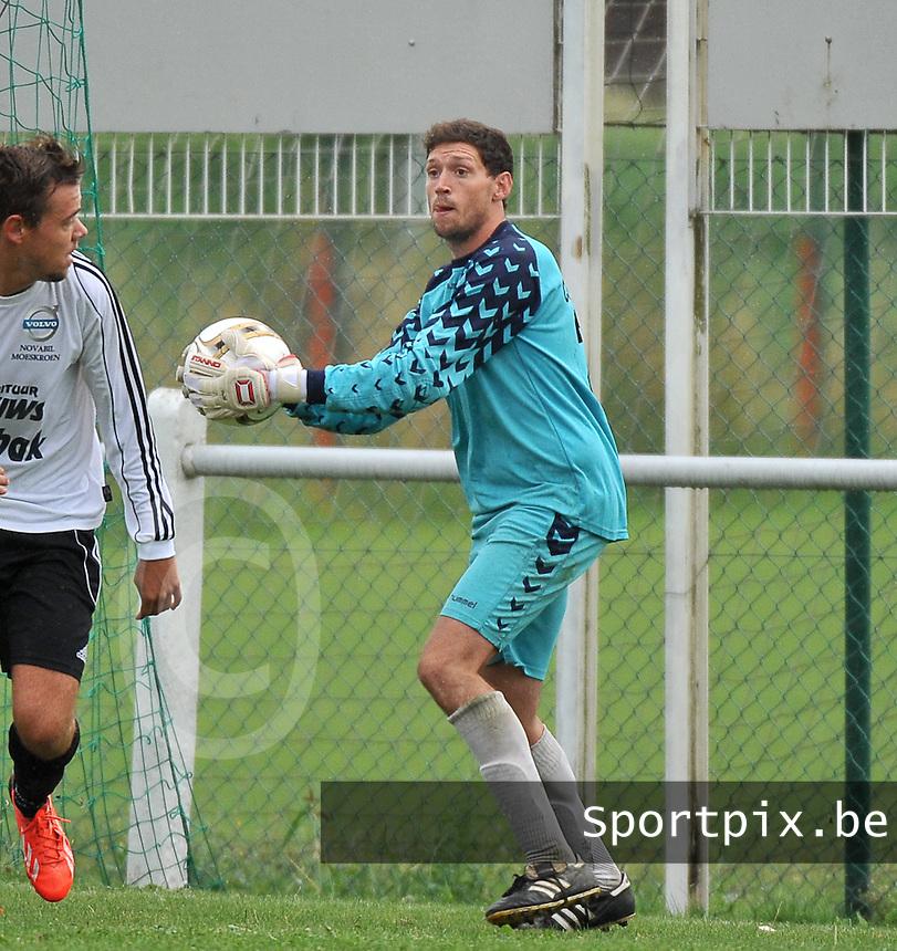 FC Helkijn : Geoffrey Coudou<br /> foto VDB / Bart Vandenbroucke