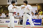 (L-R) Ayumi Hori, Rika Takayama, September 14, 2014 - Judo : All Japan Junior Judo Championships Women's -78kg Final at Saitama Prefectural Budokan, Saitama, Japan. (Photo by Yusuke Nakanishi/AFLO SPORT) [1090]