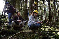 Tour of forest land in the Tongass.  Heceta Island, Winter Harbor field trip where industry people, environmentalists, and forest service employees discuss second-growth, thinning/deer habitat and karst geology that effects tree growth.   Also tour of Naukati and Staney Creek sites (wood study, history ofstands/treatments.)