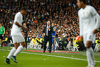 Real Madrid´s coach Rafa Benitez during 2015-16 La Liga match between Real Madrid and Barcelona at Santiago Bernabeu stadium in Madrid, Spain. November 21, 2015. (ALTERPHOTOS/Victor Blanco) /NortePhoto