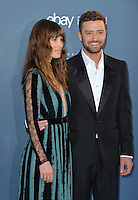 Justin Timberlake &amp; Jessica Biel at the 22nd Annual Critics' Choice Awards at Barker Hangar, Santa Monica Airport. <br /> December 11, 2016<br /> Picture: Paul Smith/Featureflash/SilverHub 0208 004 5359/ 07711 972644 Editors@silverhubmedia.com