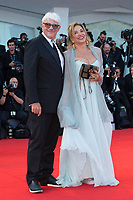 Ricky Tognazzi, Simona Izzo at the Downsizing premiere and Opening Ceremony, 74th Venice Film Festival in Italy on 30 August 2017.<br /> <br /> Photo: Kristina Afanasyeva/Featureflash/SilverHub<br /> 0208 004 5359<br /> sales@silverhubmedia.com
