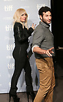 Lady Gaga and Chris Moukarbel attend the 'Five Foot Two' photo call during the 2017 Toronto International Film Festival at Tiff Bell Lightbox on September , 2017 in Toronto, Canada.