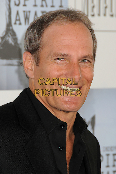 MICHAEL BOLTON .2009 Film Independent's Spirit Awards - Arrivals held at the Santa Monica Pier, Santa Monica, CA, USA, .21st February 2009..indie independent portrait headshot black shirt .CAP/ADM/BP.©Byron Purvis/Admedia/Capital PIctures