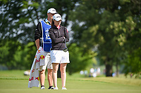 Leona Maguire (IRL) looks over her putt on 11 during the round 1 of the KPMG Women's PGA Championship, Hazeltine National, Chaska, Minnesota, USA. 6/20/2019.<br /> Picture: Golffile | Ken Murray<br /> <br /> <br /> All photo usage must carry mandatory copyright credit (© Golffile | Ken Murray)