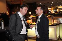 Heribert Bruchhagen (Eintracht Frankfurt) mit Thomas Allofs
