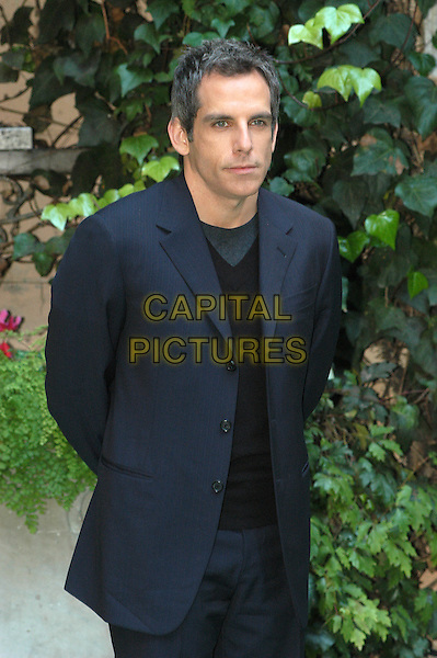 BEN STILLER.Along Came Polly photocall in Rome.16 February 2004.half length, half-length.www.capitalpictures.com.sales@capitalpictures.com.© Capital Pictures.