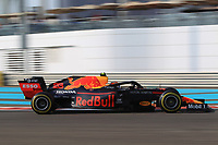 30th November 2019; Yas Marina Circuit, Abu Dhabi, United Arab Emirates; Formula 1 Abu Dhabi Grand Prix, qualifying day; Aston Martin Red Bull Racing, Alexander Albon - Editorial Use