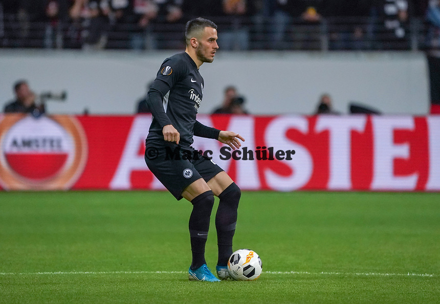 Filip Kostic (Eintracht Frankfurt) - 24.10.2019:  Eintracht Frankfurt vs. Standard Lüttich, UEFA Europa League, Gruppenphase, Commerzbank Arena<br /> DISCLAIMER: DFL regulations prohibit any use of photographs as image sequences and/or quasi-video.