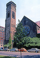 H.H. Richardson: First Baptist Church, Boston 1871. Brattle Square Church.