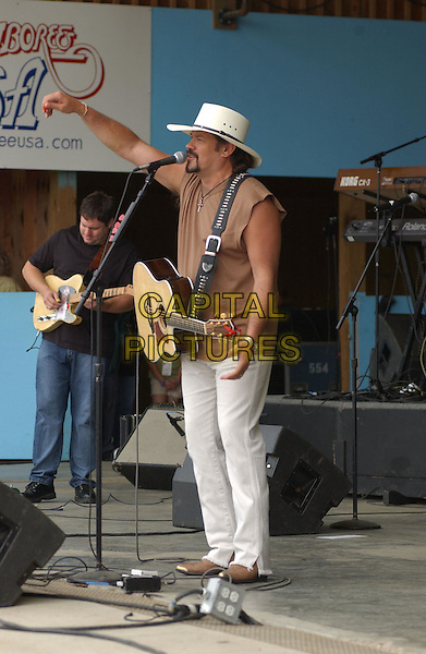 BUDDY JEWELL.Performs at the 28th Annual Jamboree in the hills, Morristown, OH, USA, 17th July 2004..full length guitar.Ref: ADM.www.capitalpictures.com.sales@capitalpictures.com.©JN/AdMedia/Capital Pictures .