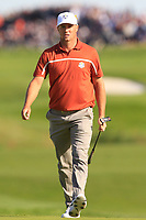 Alex Noren (Team Europe) on the 9th green during Saturday Foursomes at the Ryder Cup, Le Golf National, Ile-de-France, France. 29/09/2018.<br /> Picture Thos Caffrey / Golffile.ie<br /> <br /> All photo usage must carry mandatory copyright credit (© Golffile | Thos Caffrey)