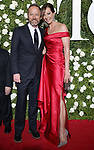 NEW YORK, NY - JUNE 11:  John Benjamin Hickey and Allison Janney attend the 71st Annual Tony Awards at Radio City Music Hall on June 11, 2017 in New York City.  (Photo by Walter McBride/WireImage)