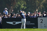 Rory McIlroy (NIR) In action during the final round of the The Genesis Invitational, Riviera Country Club, Pacific Palisades, Los Angeles, USA. 15/02/2020<br /> Picture: Golffile | Phil Inglis<br /> <br /> <br /> All photo usage must carry mandatory copyright credit (© Golffile | Phil Inglis)