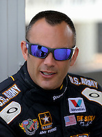 May 11, 2013; Commerce, GA, USA: NHRA top fuel dragster driver Tony Schumacher during the Southern Nationals at Atlanta Dragway. Mandatory Credit: Mark J. Rebilas-