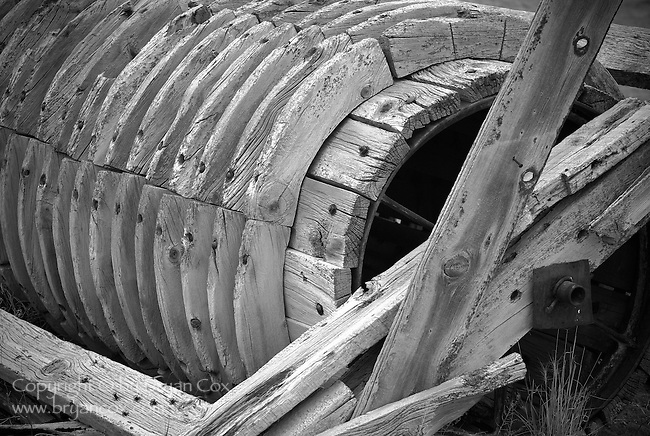 Old machinery, Fort Rock, Oregon
