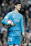 Real Madrid CF's Thibaut Courtois dejected during La Liga match. March 02,2019. (ALTERPHOTOS/Alconada)