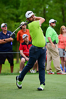Andy Sullivan (ENG) watches his tee shot on 11 during round 3 of the Shell Houston Open, Golf Club of Houston, Houston, Texas, USA. 4/1/2017.<br /> Picture: Golffile | Ken Murray<br /> <br /> <br /> All photo usage must carry mandatory copyright credit (&copy; Golffile | Ken Murray)
