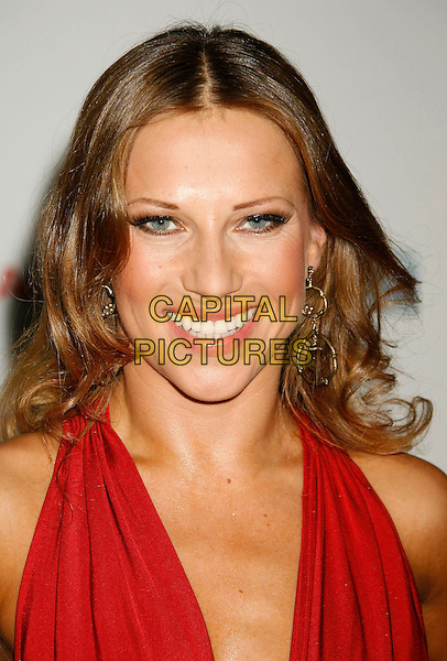 "EDYTA SLIWINSKA.14th Annual Race to Erase MS Themed ""Dance to Erase MS"" held at the Century Plaza Hotel, Century City, California, USA, 13 April 2007..portrait headshot red dress .CAP/ADM/RE.©Russ Elliot/AdMedia/Capital Pictures."